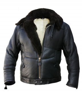 Kanaljacke Winterversion schwarz