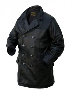 Submarine Coat: Black